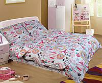 Детское (подростковое) полуторное постельное белье бязь Gold - МУР-МЯУ