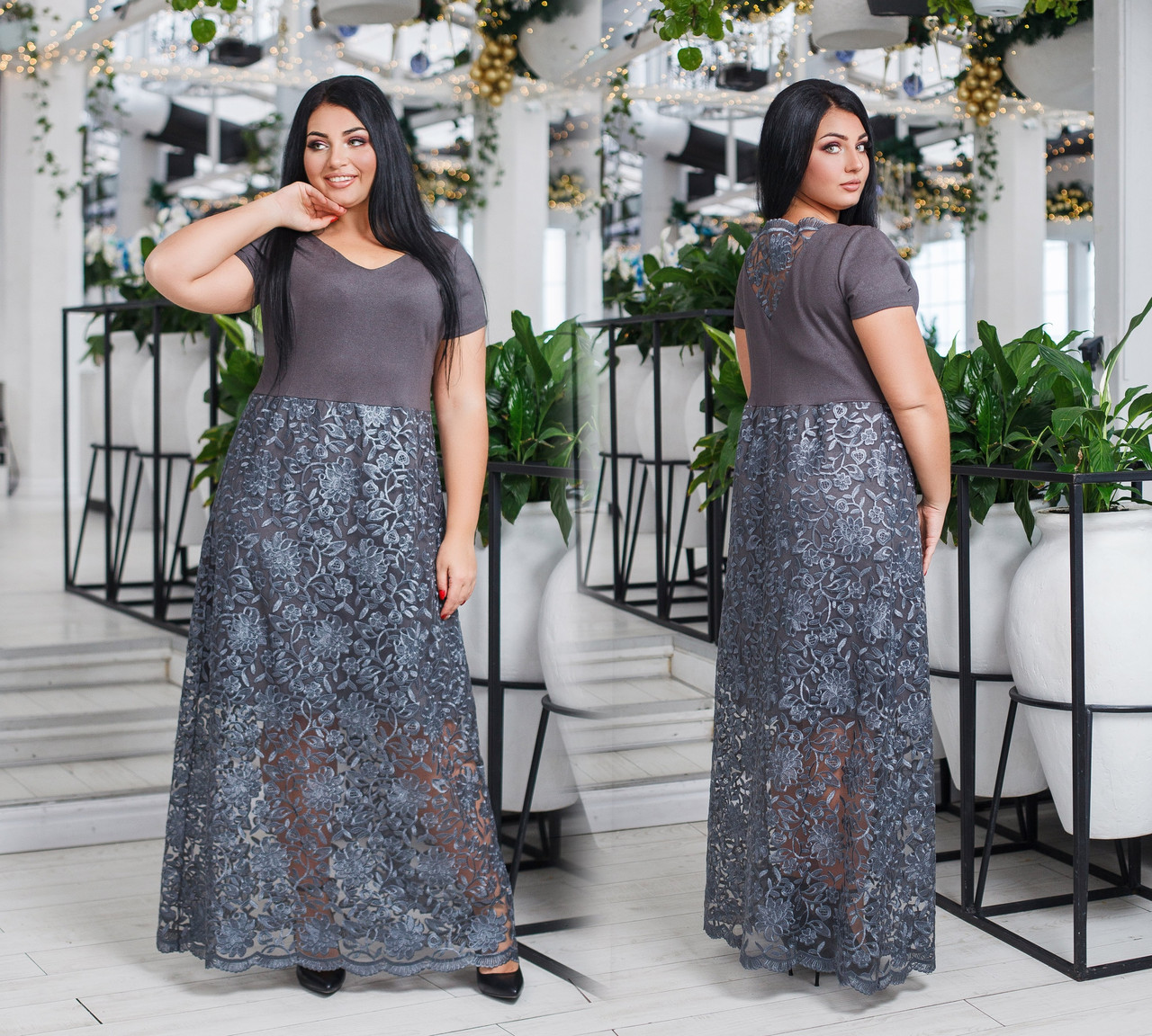 Платье женское 41240дг батал