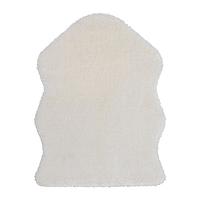 ИКЕА TOFTLUND Ковер, белый, 55x85 см