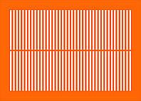 Решетка на радиатор  № 182