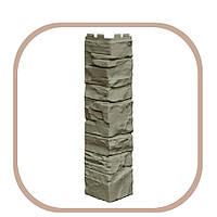 Угол наружный для фасадных панелей под камень