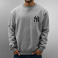 Свитшот, кофта, реглан New York (серый), Реплика
