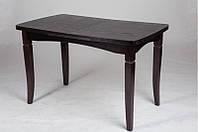 """Розкладний кухонний стіл """"Леон"""" (горіх або венге) 110*см, фото 1"""
