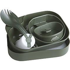 Набор посуды Helikon CAMP-A-BOX® Complete, Olive (SE-CAB-PP-02)
