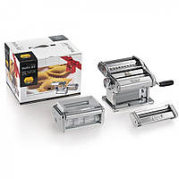 Набор лапшерезка - тестораскатка - пельменница Marcato Pasta Set