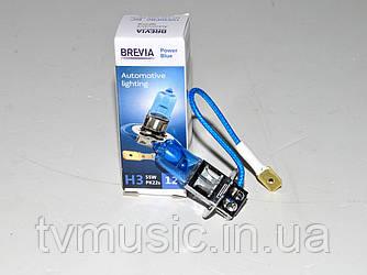 Лампа галогенная Brevia H3 Power Blue (12030PBC)