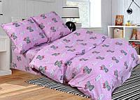 Детское (подростковое) полуторное постельное белье бязь Gold - КРОШКА МИШКА