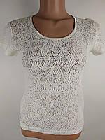 d00e89985b4 Ажурный белый топ в категории футболки и майки женские в Украине ...