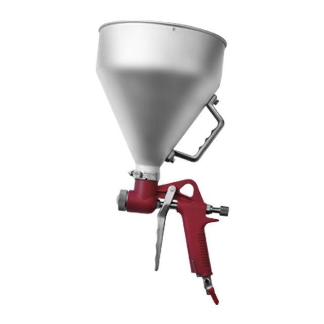 Штукатурный распылитель, три форсунки 4;6;8 мм, В/Б металлический, 6000 мл, 3-6 b INTERTOOL PT-0401