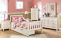 Деревянная детская кровать Салли 80х200 см. Мистер Мебл артикул 860098