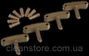 Крючок 4 шт. к настенным креплениям арт. 1017 и 1018, 140 мм, фото 2