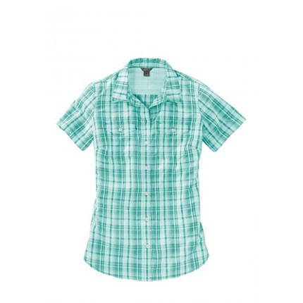 Женская рубашка Eddie Bauer Womens Adventurer Short-Sleeve Blouse GREEN (M), фото 2