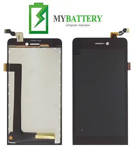 Дисплей (LCD) Archos 50 Helium с сенсором черный