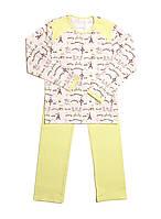Красивая детская пижама для девочек (рост 134-146)