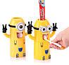 Дозатор зубной пасты с держателем для зубных щеток  Миньон, фото 2