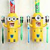 Дозатор зубной пасты с держателем для зубных щеток  Миньон, фото 5