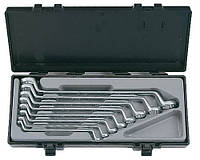 Набор ключей накидных отогнутых на 75° 8 пр. (6-23 мм) Force 5081 F