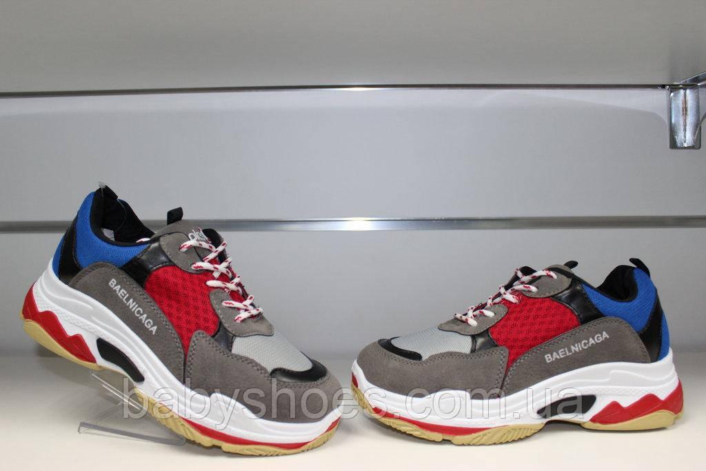 Весна 2019 Модные кроссовки под Balenciaga р-ры 36-41