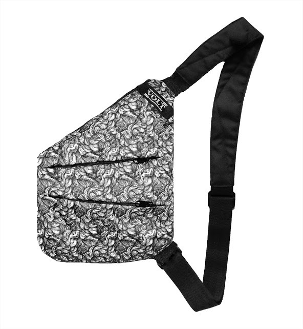 Сумка кобура  Cross Body Volt Wind Grey