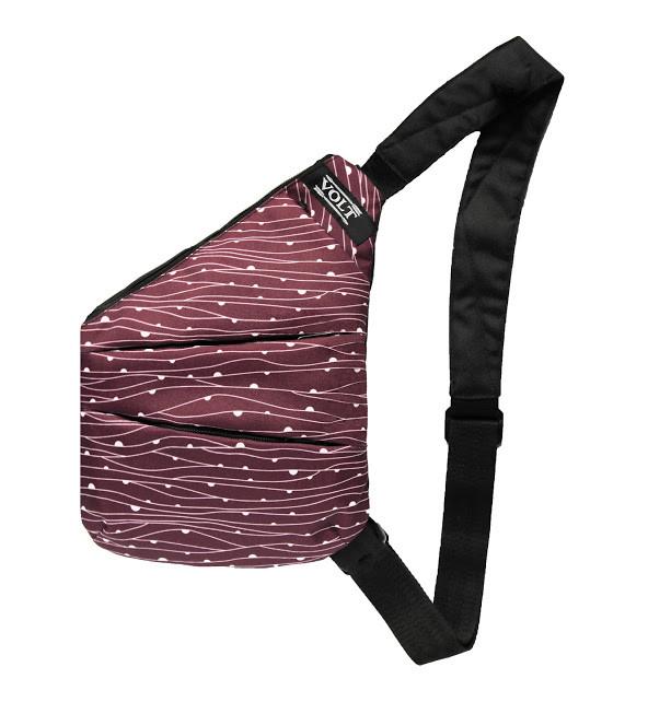 Сумка кобура Cross Body Volt Bordo сумка через плечо