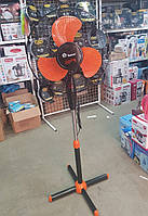 Вентилятор напольный Domotec FS-1619 40 см (70 Вт)