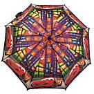 """Детский зонт для мальчиков с тачками на 5-9 лет от фирмы """"Paolo""""., фото 3"""