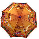 """Детский зонт для мальчиков с тачками на 5-9 лет от фирмы """"Paolo""""., фото 5"""