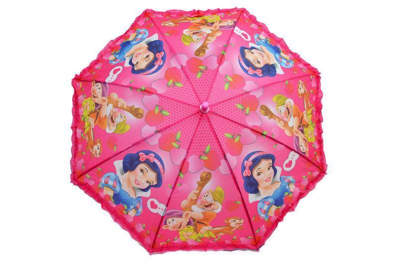Детский зонтик для девочек с рюшей