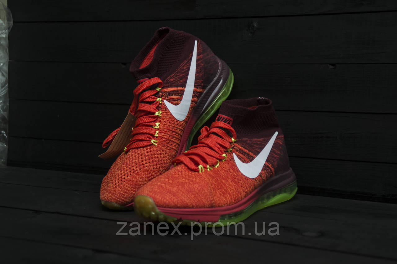 Кроссовки Nike Air Zoom All Out Flyknit красные