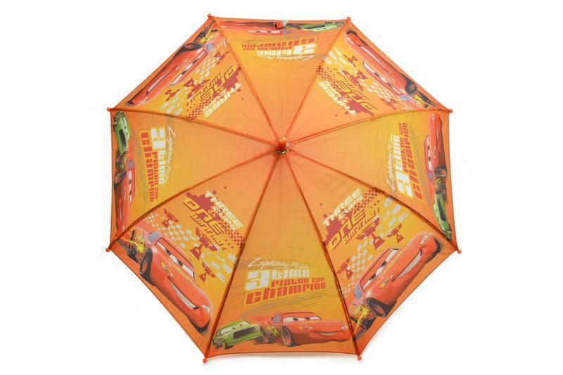 """Детский зонт для мальчиков с тачками на 5-9 лет от фирмы """"Paolo"""""""