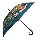 Детский зонт трость для мальчиков с Ниндзяго, фото 3