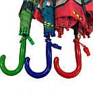 Детский зонт трость для мальчиков с Ниндзяго, фото 7