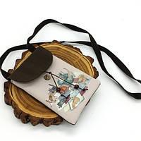 Текстильная сумка-кошелек Cats
