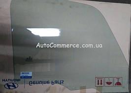 Стекло двери левой Hyundai HD65, HD72, HD78.