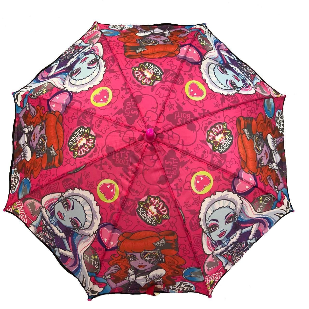 """Детский зонт трость для девочек """"Монстер Хай"""""""