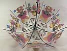 Детский прозрачный зонт трость для девочек LoL, фото 3