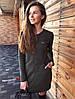 Сукня,трехнить на флісі з люрексом. Розмір:С,М. різні Кольори. (6102), фото 5