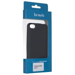 Чехол Bravis A509 Jeans- Shiny Gold