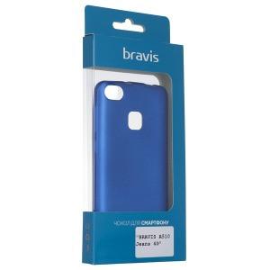 Чехол Bravis A510 Jeans 4G - Shiny Blue
