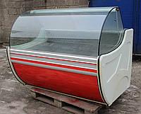 Холодильная витрина охлаждаемая «Cold W-15 SG» 1.5 м. (Польша), широкая выкладка 78 см., Б/у , фото 1