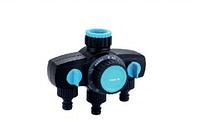 Таймер для полива механический от 10 до 120 мин на 3 выхода Presto-PS 7736