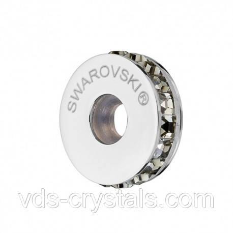 Стоперы для браслетов в стиле Пандора от Swarovski Black Diamond 181001