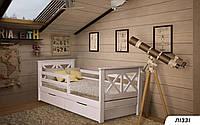 Деревянная детская кровать Лиззи 80х190 см. Мистер Мебл артикул 860041