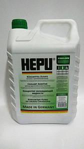 Антифриз - концентрат зеленый HEPU 5л