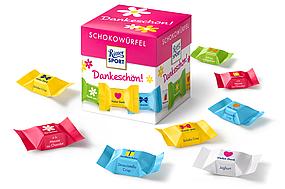"Шоколадные конфеты ""Ritter Sport"" Schokowürfel Dankeschön 176г"