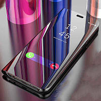 Зеркальный чехол-книжка CLEAR VIEW с функцией подставки для Samsung J4+2018 (J415)