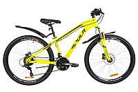 """Підлітково-гірський велосипед FORMULA DAKAR AM HDD 26""""(жовтий), фото 1"""