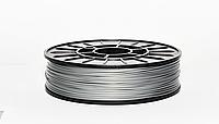 CoPET (PETg) пластик для 3D печати,1.75 мм 0.75 кг, серый-металлик