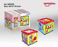 Интерактивный сортер-куб Fancy Cube