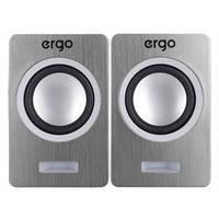 Мультимедийная акустика ERGO S-2049 USB 2.0 Silver, фото 1
